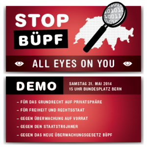 Stop Büpf Demo Visual
